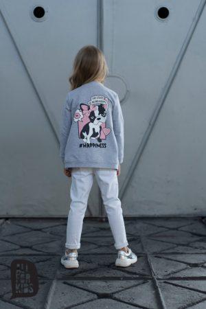 Szary sweter kardigan Dreams dla dziewczynek