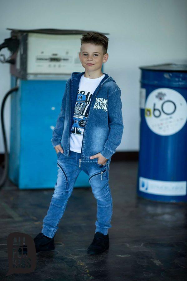 Bluza z kapturem dla chłopca Urban