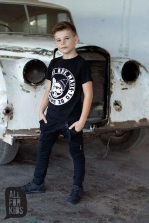 Spodnie dla chłopców Rules