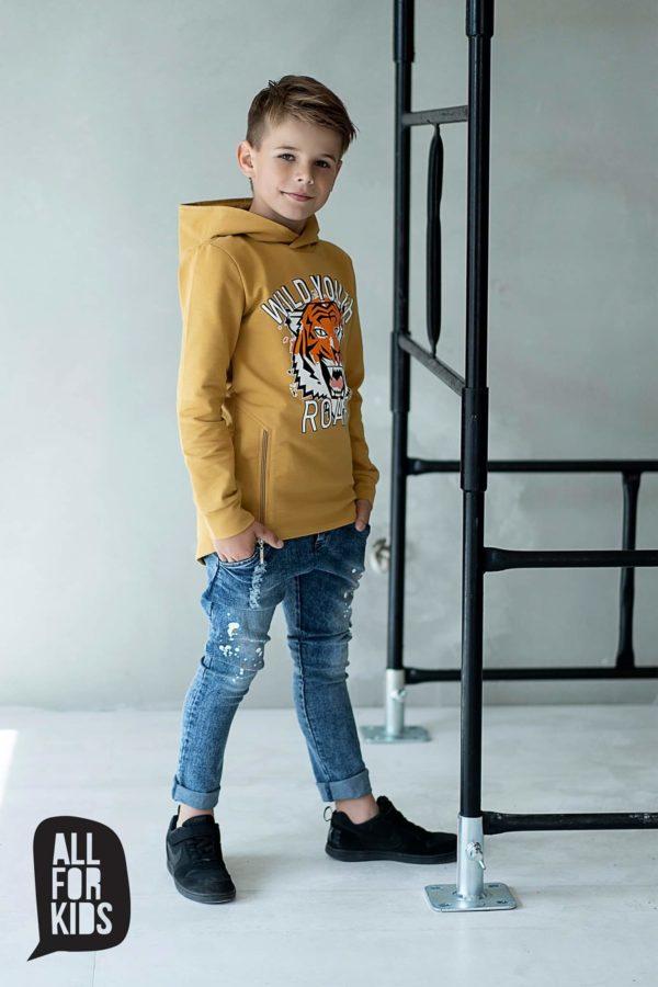 Spodnie jeansy chłopięce Roar