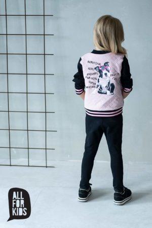 Różowa bluza dla dziewczynek Pretty Girl