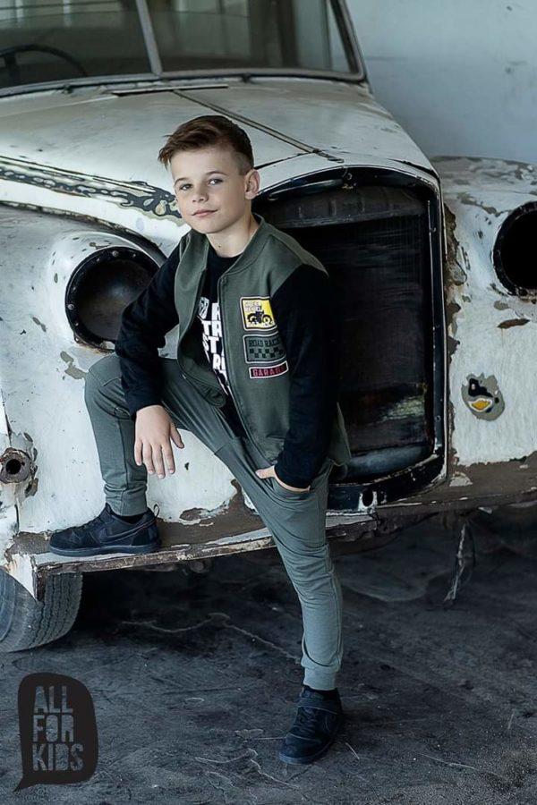 Bluza z zamkiem dla chłopca Extreme