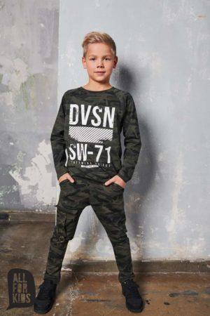 Chłopięca bluza moro DVSN