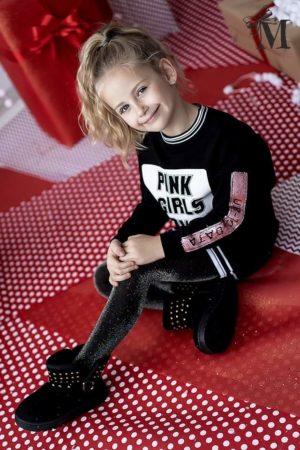 DZIEWCZĘCA TUNIKA PINK GIRLS POWER