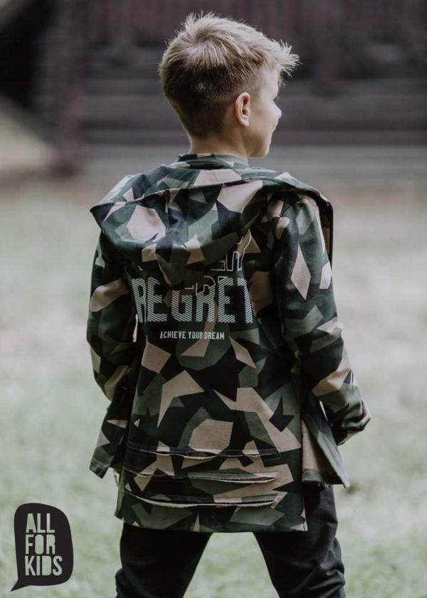 Bluza moro dla chłopca Never Regret