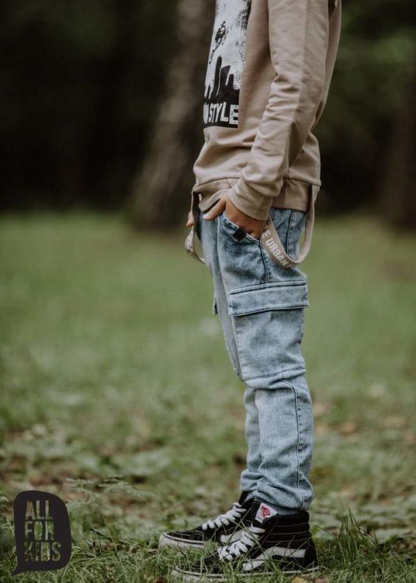Bluza chłopięca miętowa Urban Style