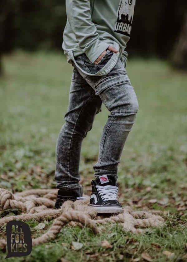 Spodnie dla chłopca kolor grafitowy Urban Style