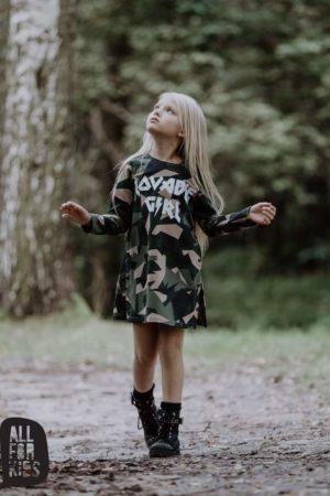 Dwuczęściowa tunika dla dziewczynki