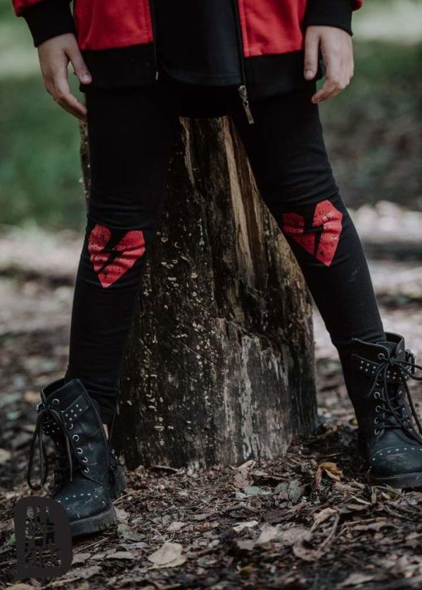 Czerwona bluza dla dziewczynki Rebel Soul
