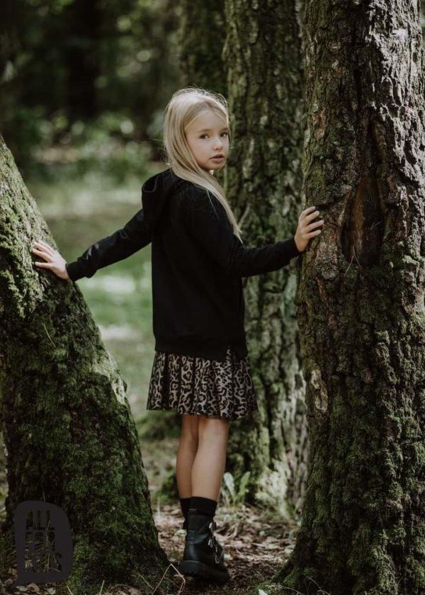 Bawełniana sukienka dla dziewczynki Creative
