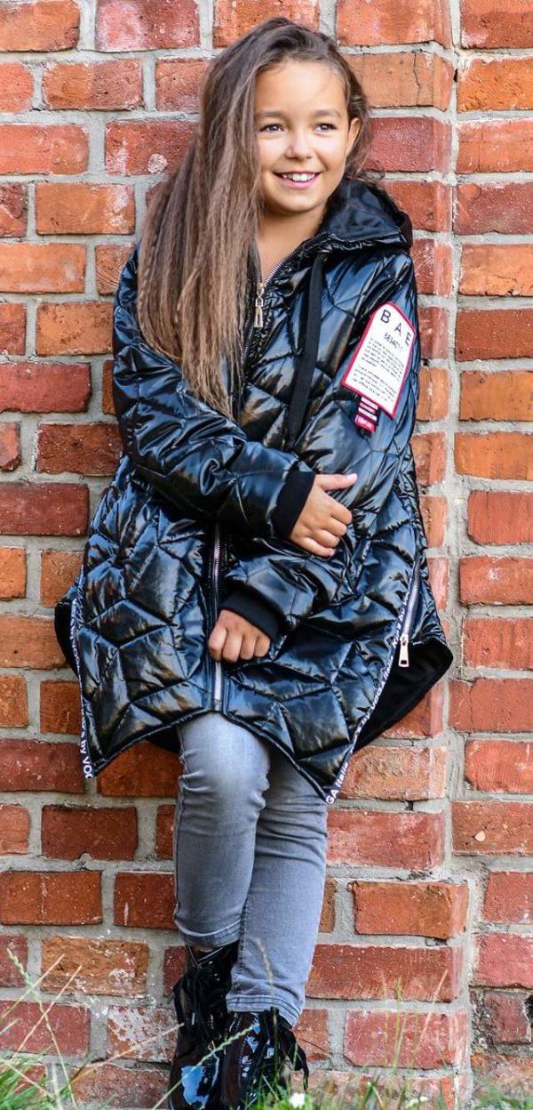 Błyszcząca kurtka dla dziewczynki Kids by Voga