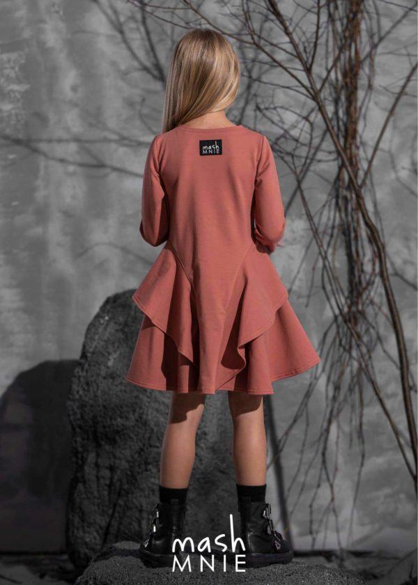 Sukienka koralowa dla dziewczynki MashMnie