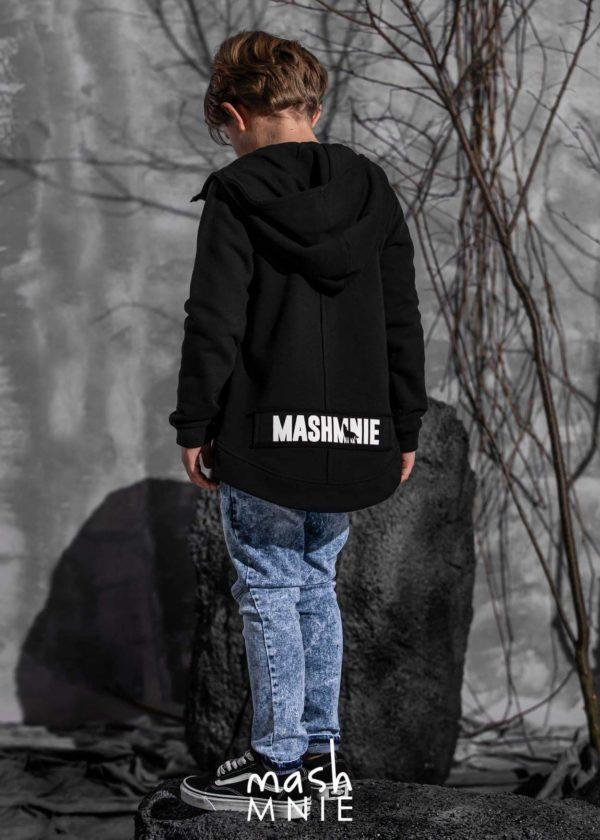 Bluza rozpinana dla chłopca toffee Mashmnie