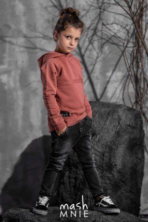 Koralowa bluza dla chłopca Mashmnie