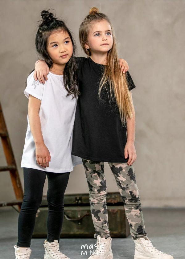 Tunika dla dziewczynki z wycięciem MashMnie