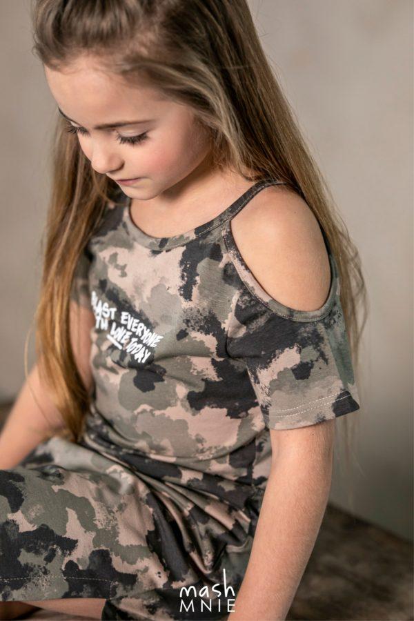 Sukienka moro dla dziewczynki MashMnie