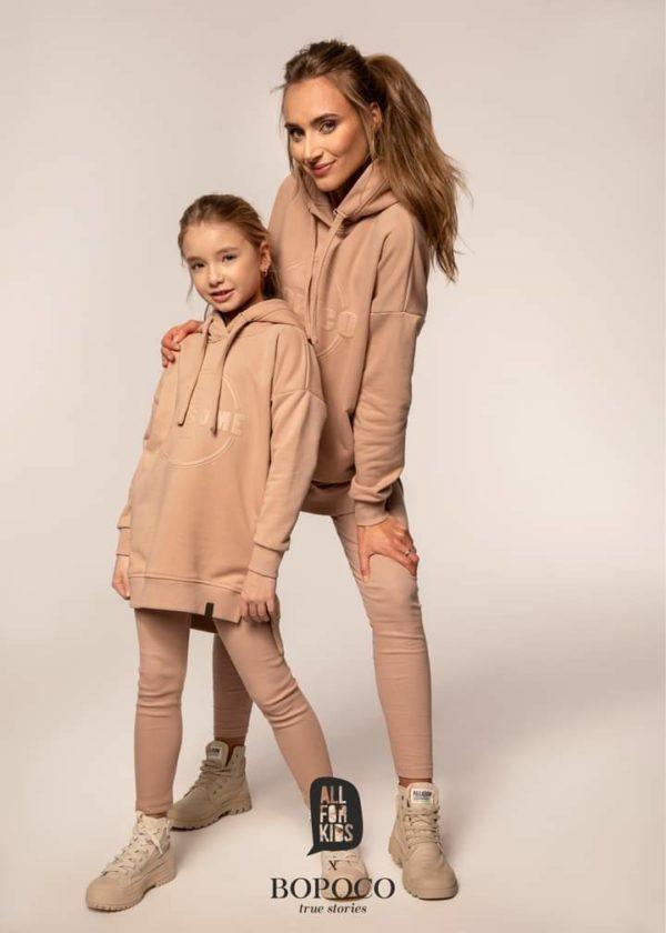 Długa bluza dla dziewczynki Mama i Córka