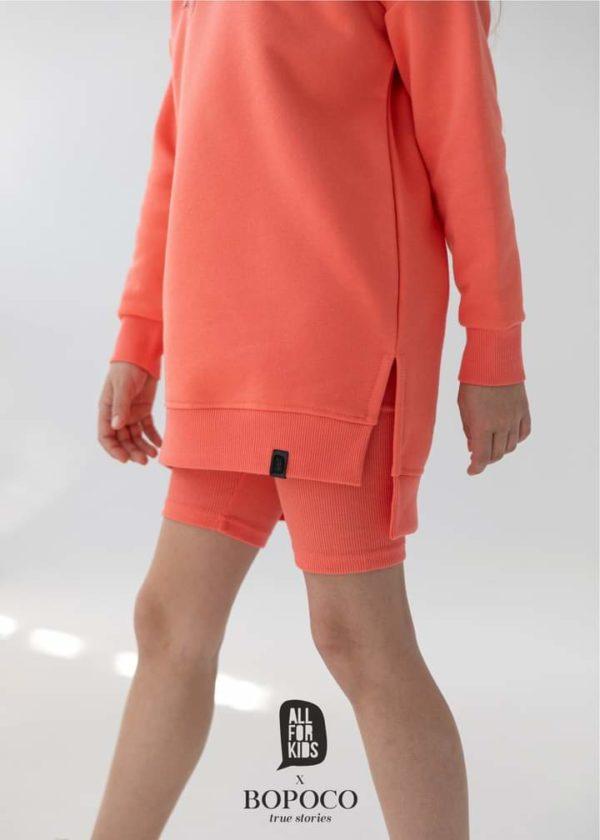 Bluza Bopoco w kolorze koralowym