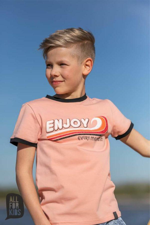T-shirt dla chłopca Enjoy All For Kids