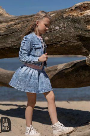 Spódniczka jeansowa dla dziewczynki All For Kids