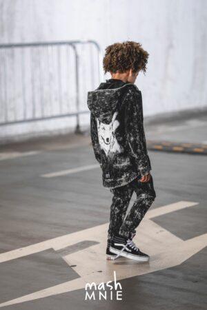 Spodnie dla chłopca acid Mashmnie czarne