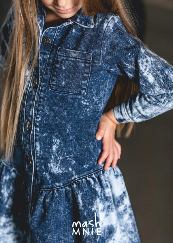 Jeansowa sukienka Mashmnie UtC