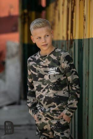 Bluza dla chłopca moro All For Kids