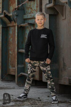 Chłopięce spodnie moro All For Kids