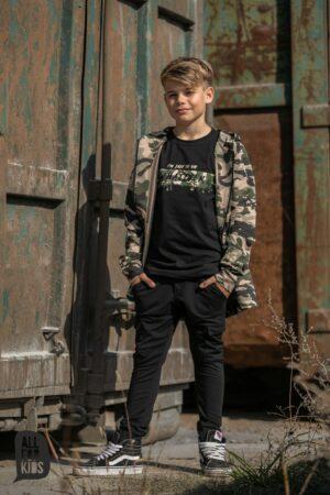 Rozpinana bluza dla chłopca moro All For Kids